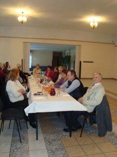 Výročná členská schôdza bola spojená sfašiangovým posedením