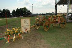 Oslavy 760.výročia obce Geča pokračovali  popoludní nafutbalovom ihrisku vGeči