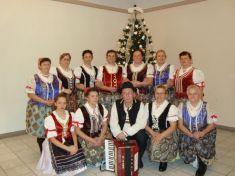 ŽSS Gečanka pri vianočnom stromčeku